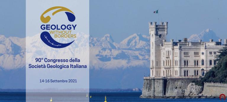 """90° Congresso della Società Geologica Italiana """"Geology whithout borders""""- 14-16 Settembre 2021"""